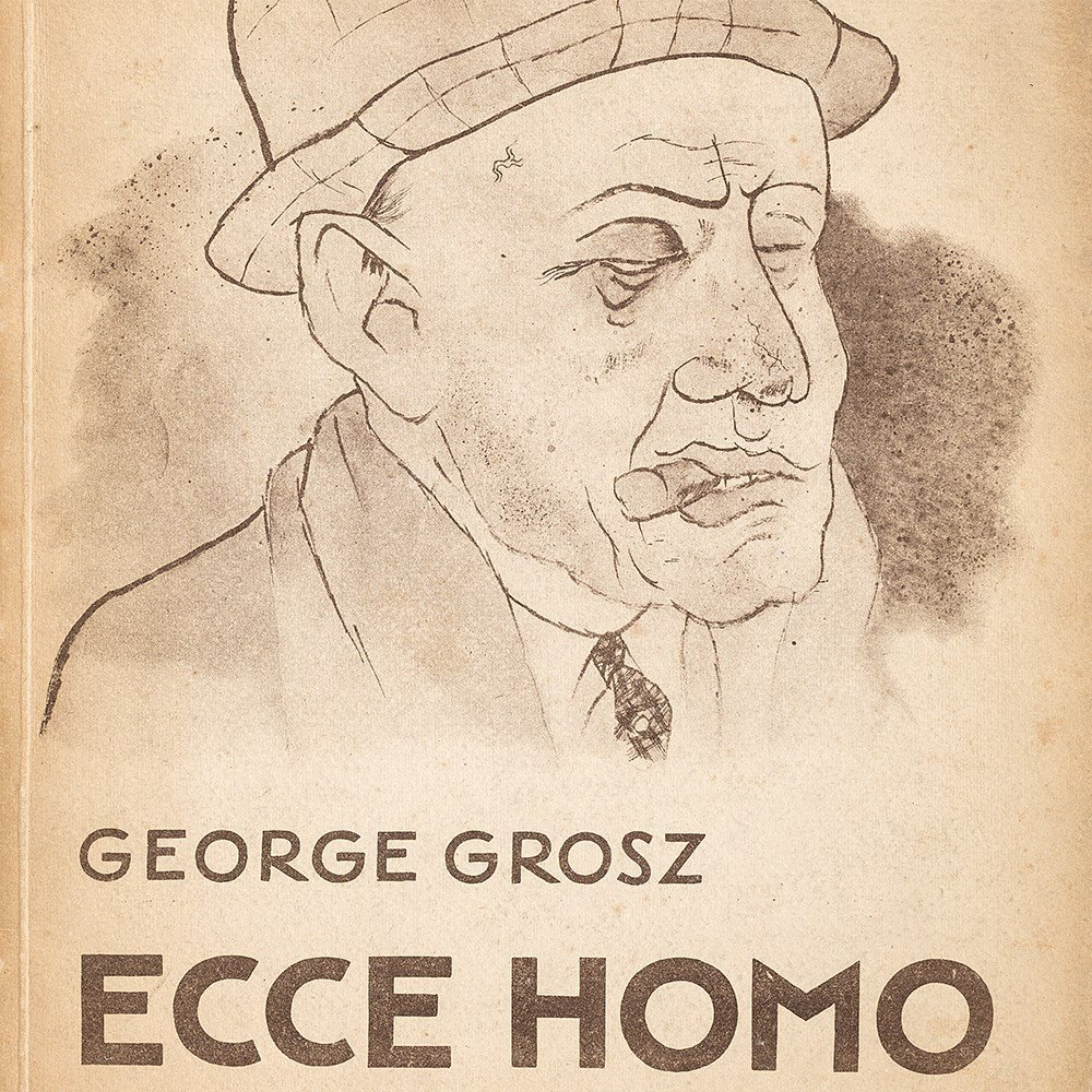 George Grosz, 'Ecce Homo' with 100 Illustrations, - 9