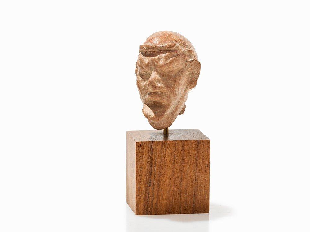 Grotesque Head, Presumably Roman, 1st C. BC - 1st C. AD