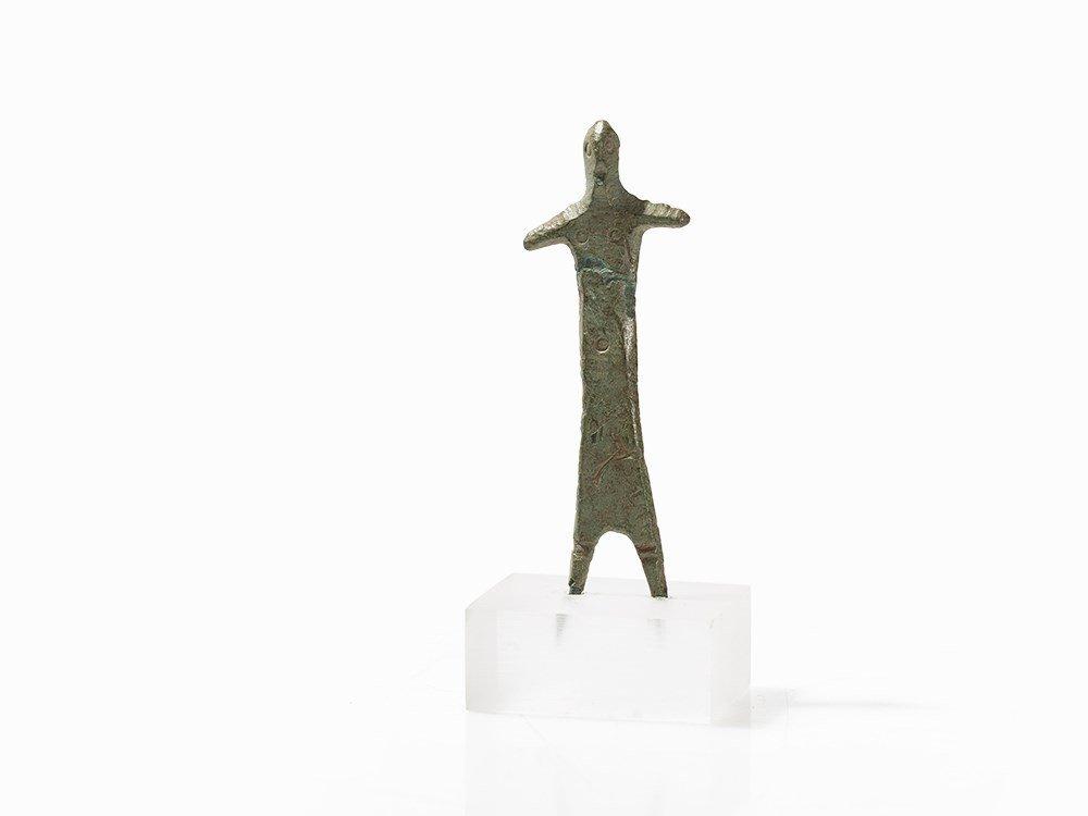 Bronze Idol, Etruscan, 5th Century BC
