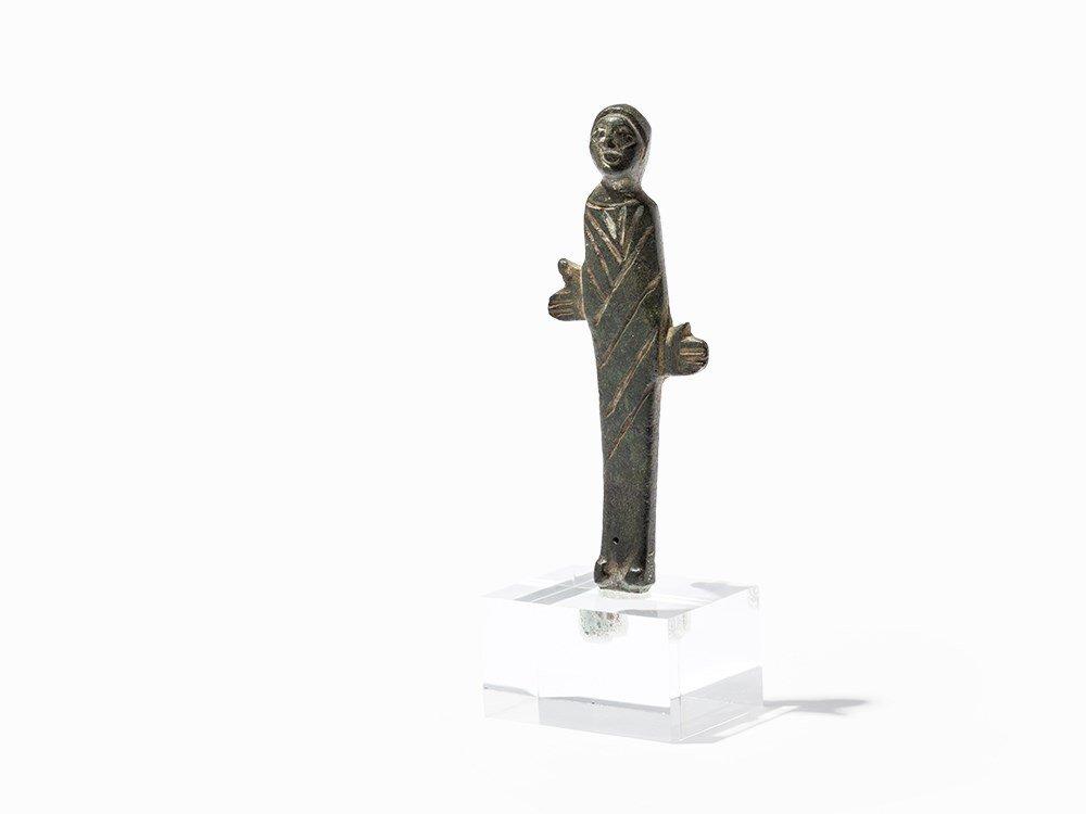 Bronze Worshiper, Etruscan, 7th Century BC