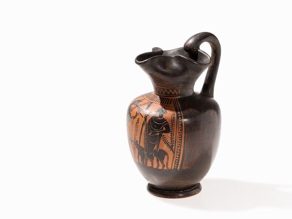 Oenochoe, Greece, Attica, 5th Century BC
