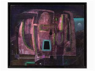 Antoni Tàpies, Oil on Canvas, Dissection of a Nocturne,