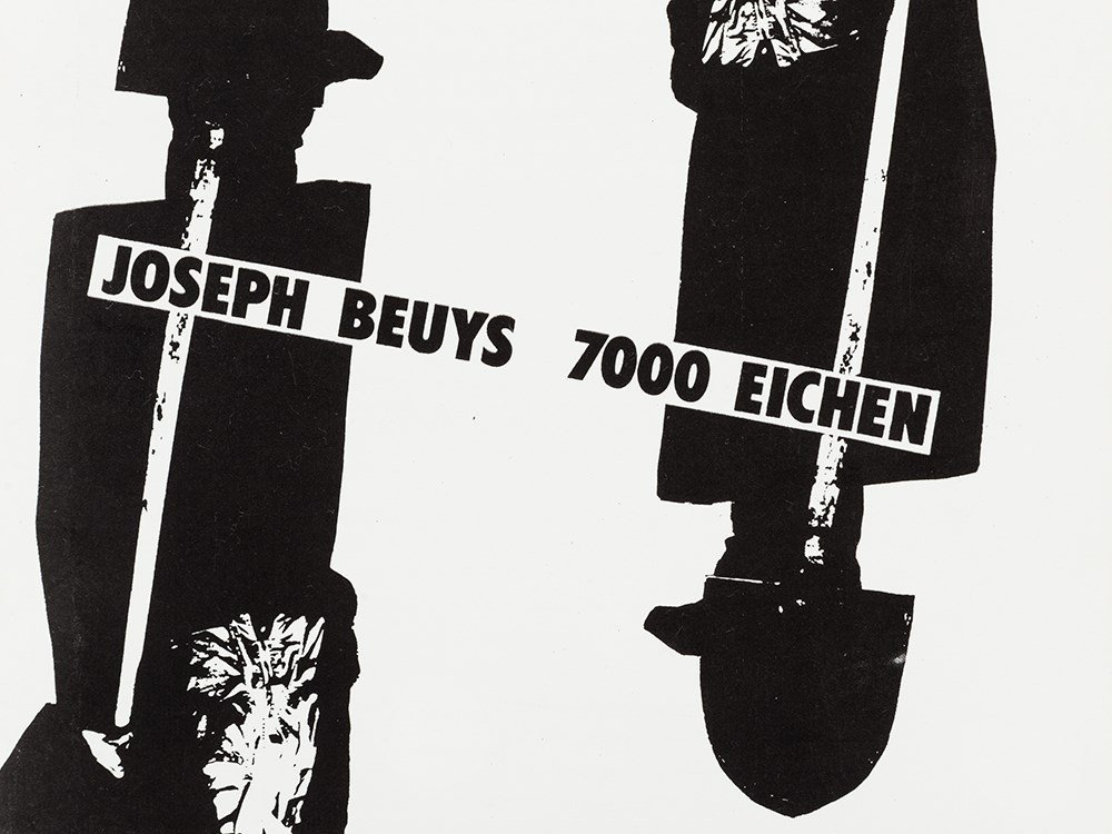 Joseph Beuys (1921-1986), 7000 Oaks. A Working Paper, - 5