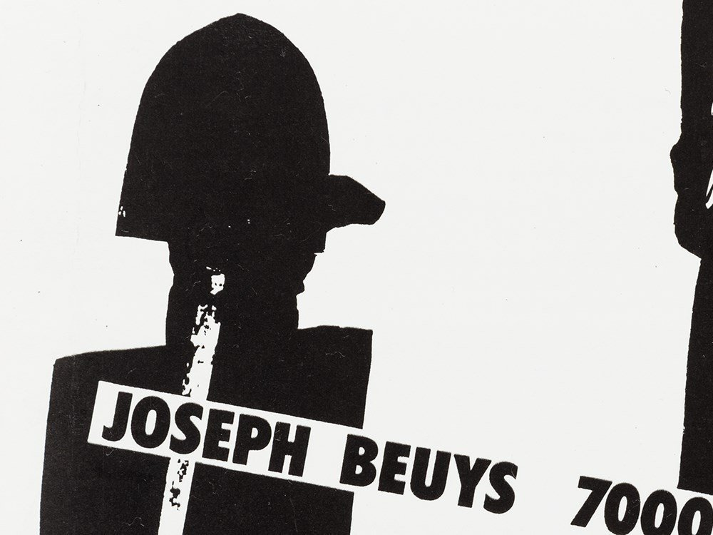 Joseph Beuys (1921-1986), 7000 Oaks. A Working Paper, - 6