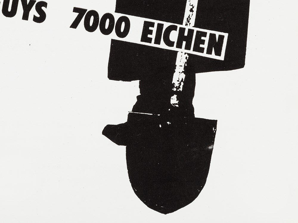 Joseph Beuys (1921-1986), 7000 Oaks. A Working Paper, - 7