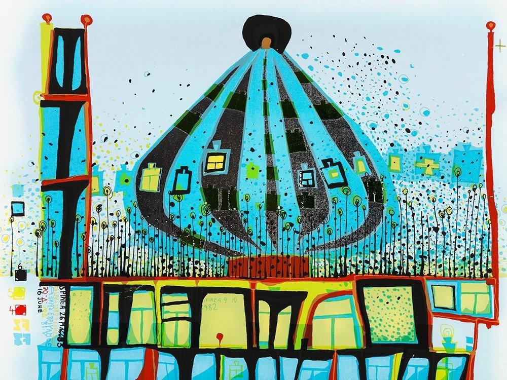 Friedensreich Hundertwasser, Print From '10 002 - 4