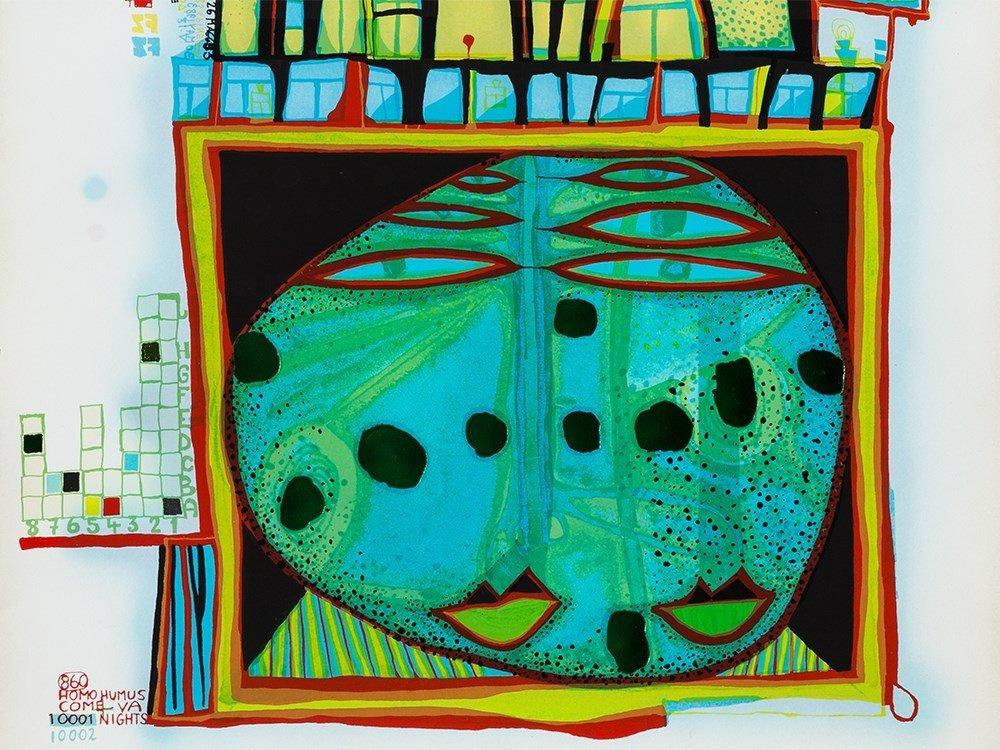 Friedensreich Hundertwasser, Print From '10 002 - 5