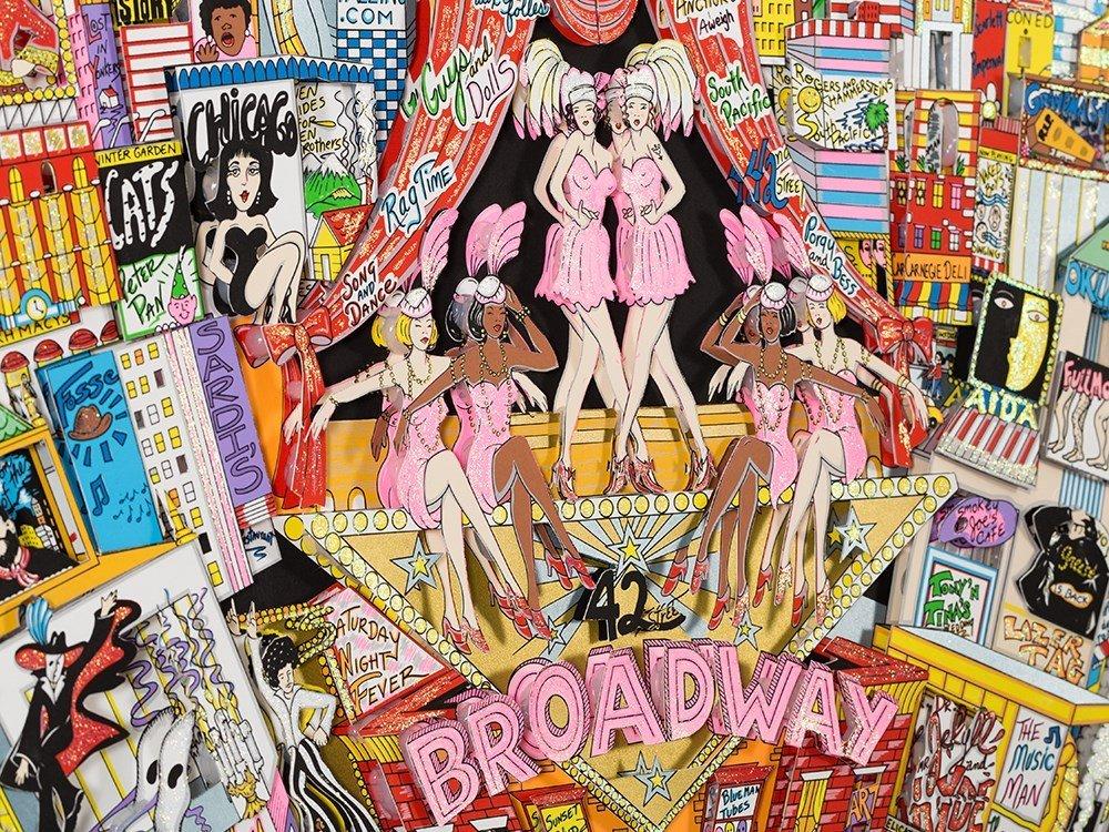 Charles Fazzino, 3D Design, 'Broadway And Beyond!', c. - 10