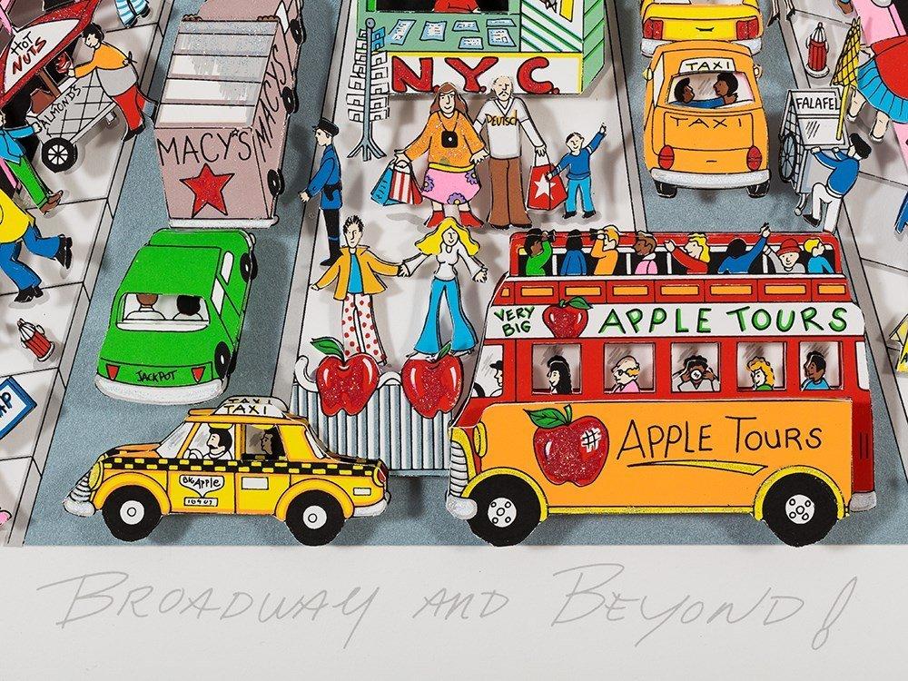 Charles Fazzino, 3D Design, 'Broadway And Beyond!', c. - 4