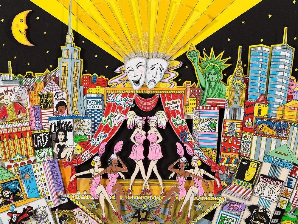 Charles Fazzino, 3D Design, 'Broadway And Beyond!', c. - 6