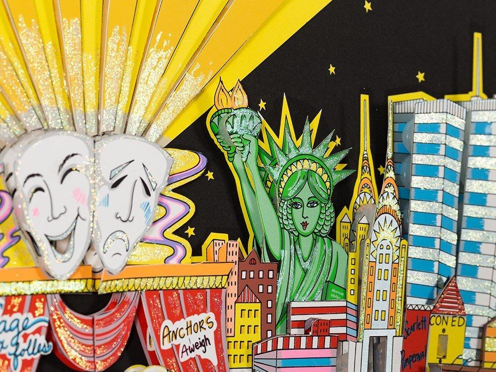 Charles Fazzino, 3D Design, 'Broadway And Beyond!', c. - 8