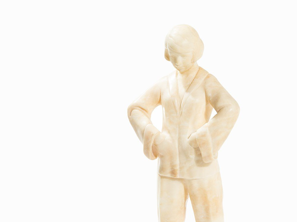 Stephan Dakon, Art Deco Pajamas Woman, Goldscheider, - 2