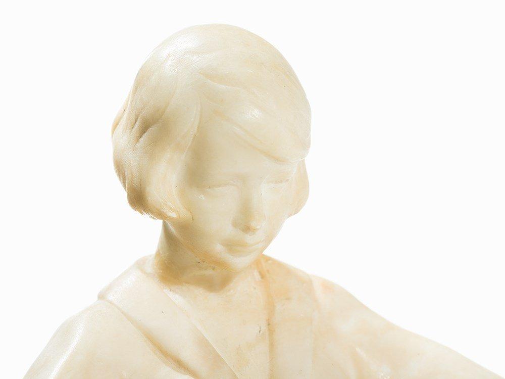 Stephan Dakon, Art Deco Pajamas Woman, Goldscheider, - 4