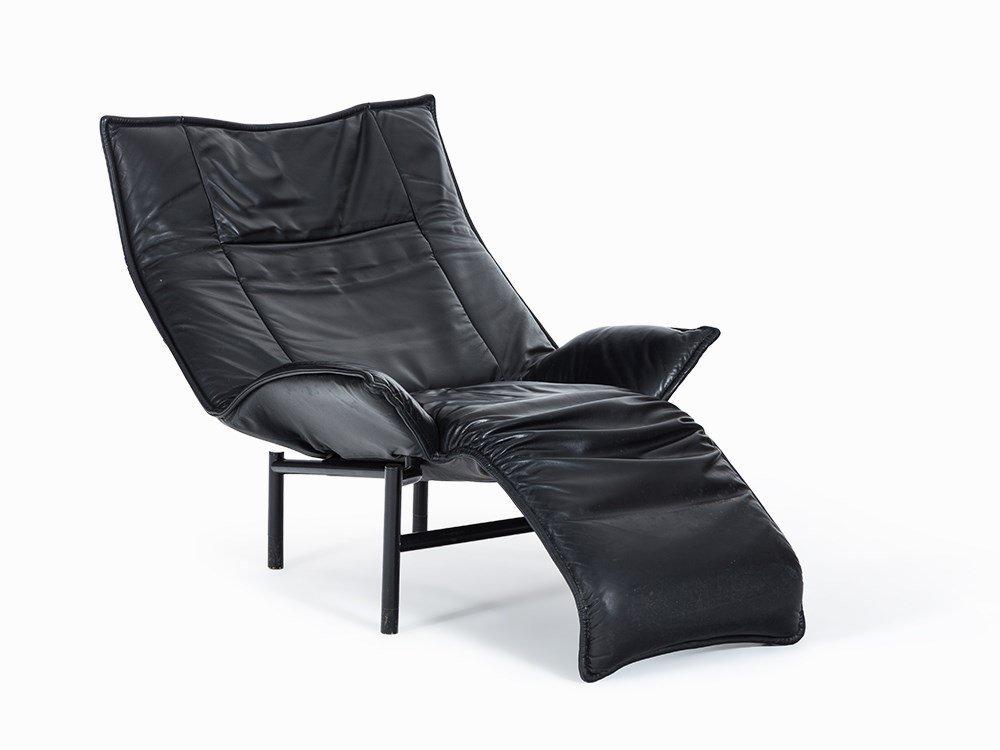Vico Magistretti, Lounge Chair 'Veranda', Cassina,