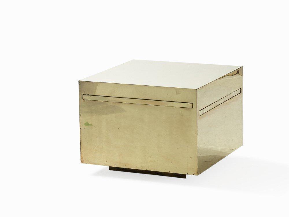 Gabriella Crespi, Pull-out Table 'Cubo Magico ', c.