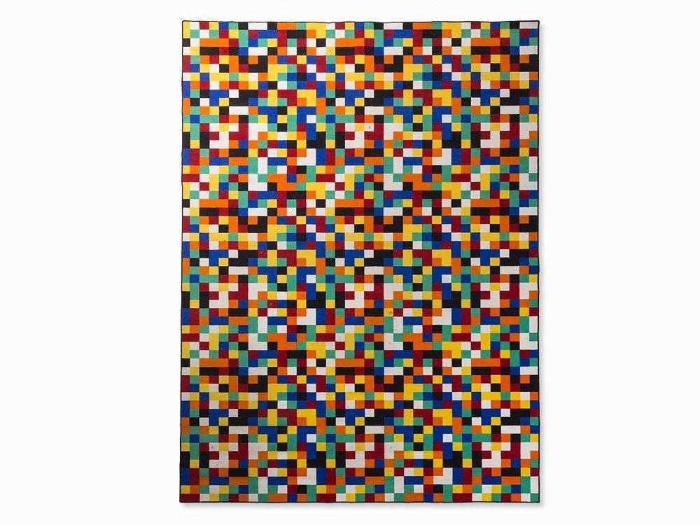 After Gerhard Richter, Carpet '1024 Farben', Vorwerk,