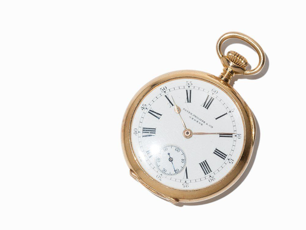 Small Patek Philippe Pocket Watch, Around 1915