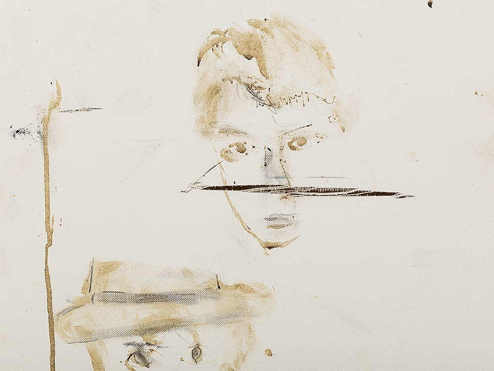 Pete Doherty (b. 1979), Self Portrait - Blood Painting - 2