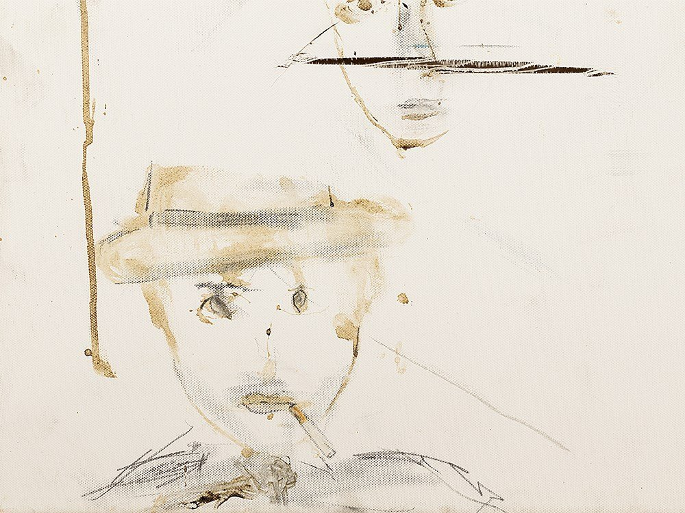 Pete Doherty (b. 1979), Self Portrait - Blood Painting - 3
