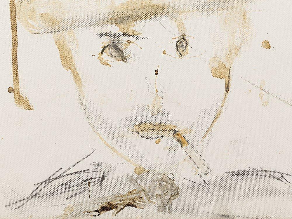 Pete Doherty (b. 1979), Self Portrait - Blood Painting - 4