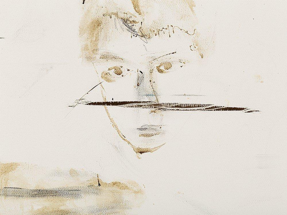 Pete Doherty (b. 1979), Self Portrait - Blood Painting - 5