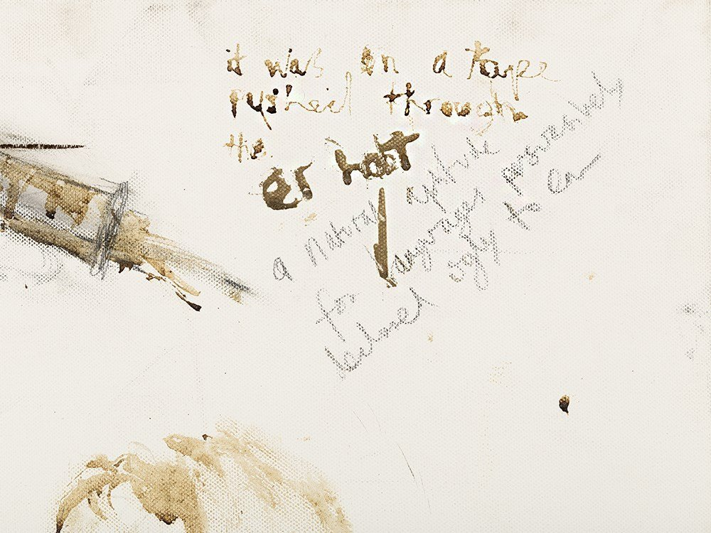 Pete Doherty (b. 1979), Self Portrait - Blood Painting - 8