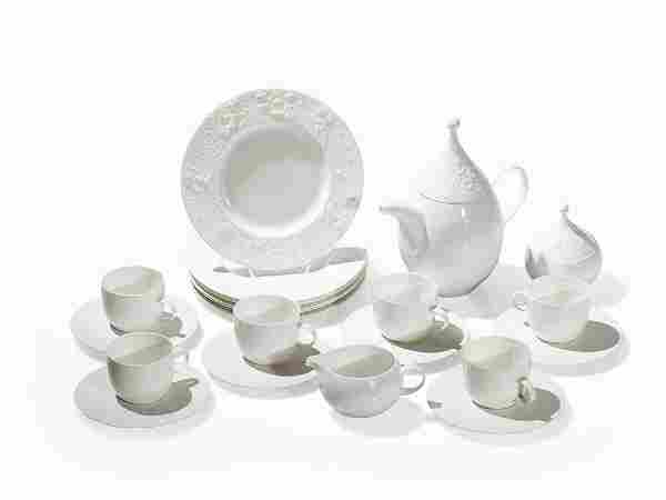 Rosenthal, Porcelain Coffee Service 'Magic Flute', 6