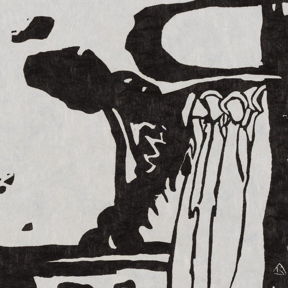 Wassily Kandinsky, Woodcut for 'Improvisation 19', 1911 - 10