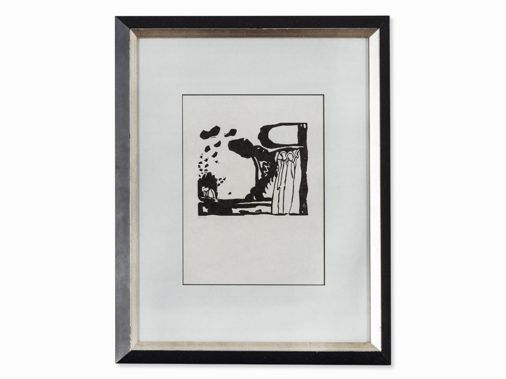Wassily Kandinsky, Woodcut for 'Improvisation 19', 1911