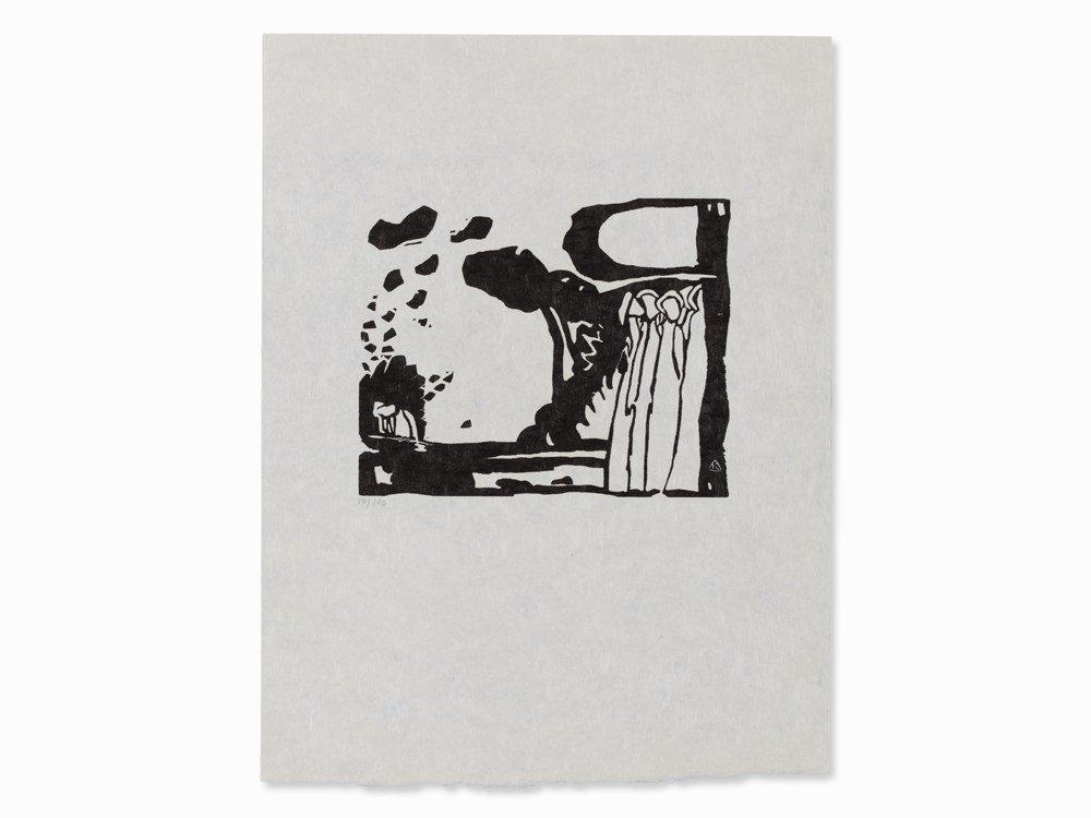Wassily Kandinsky, Woodcut for 'Improvisation 19', 1911 - 2