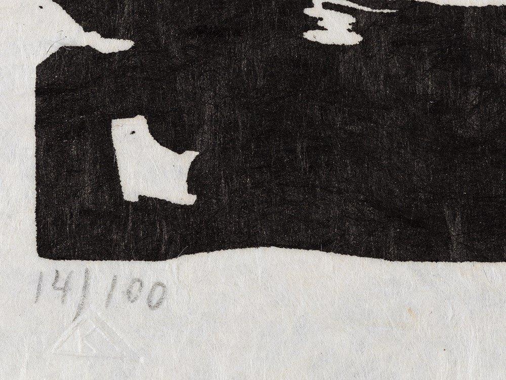 Wassily Kandinsky, Woodcut for 'Improvisation 19', 1911 - 3