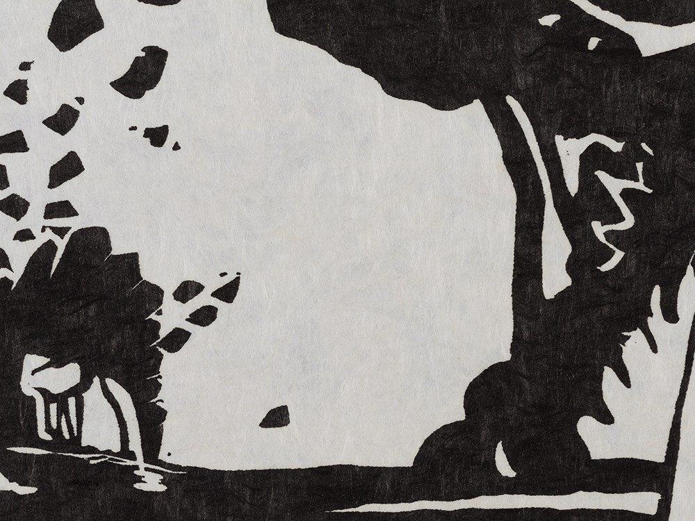 Wassily Kandinsky, Woodcut for 'Improvisation 19', 1911 - 5