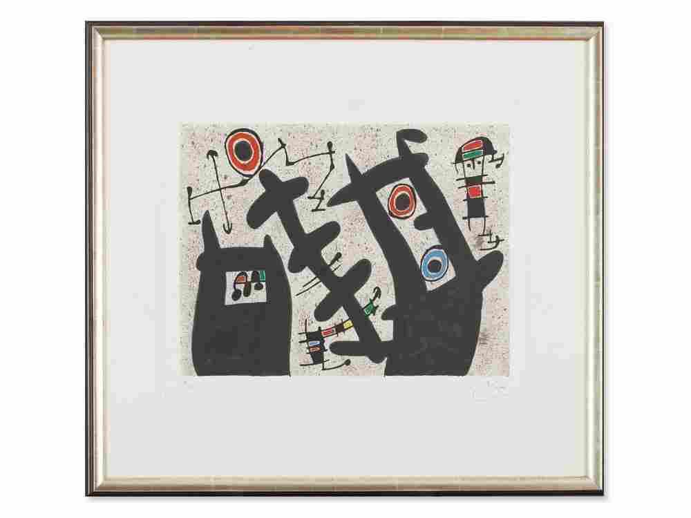 Joan Miró, Le lézard aux plumes d'or', Color