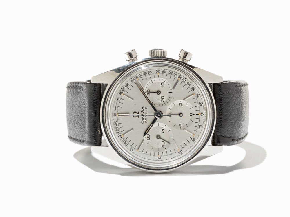 Omega DeVille Chronograph, Ref. 145.018, Around 1970