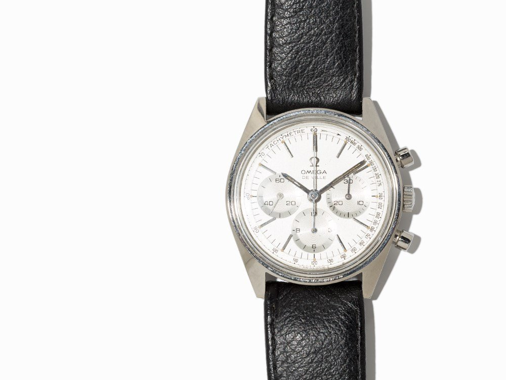 Omega DeVille Chronograph, Ref. 145.018, Around 1970 - 2