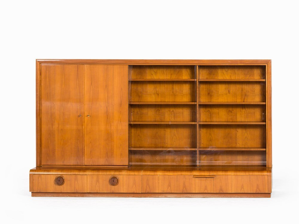 Deutsche Werkstätten Hellerau, Bookcase, Cherry, c.