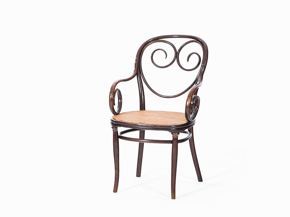 Michael Thonet, Chair No. 2, Bentwood, Austria, c. 1890