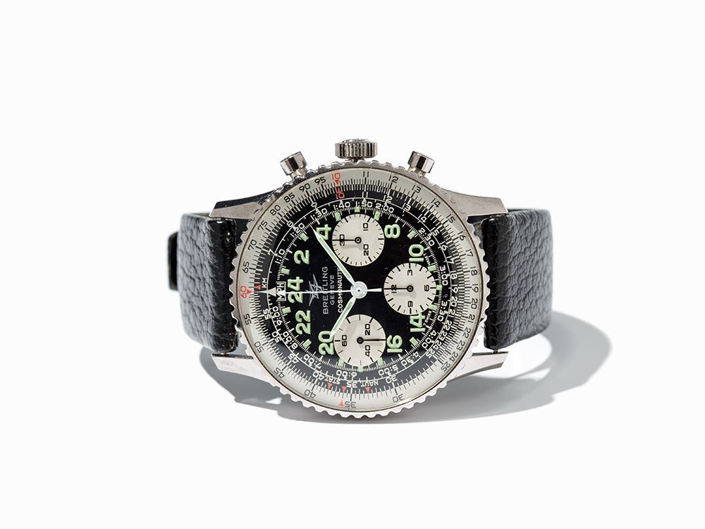 Breitling Cosmonaute Chronograph, Ref. 809-36, Around