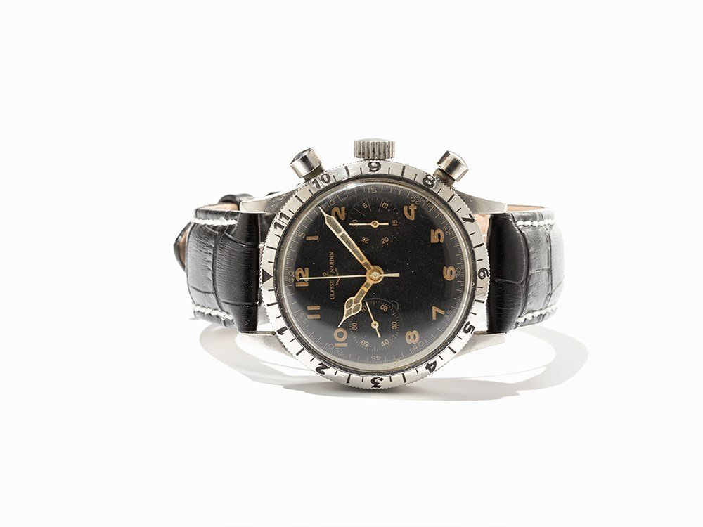 Ulysse Nardin Oversize Military Chronograph, Around