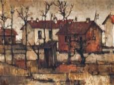 Michel de Gallard, Oil on canvas, Landscape with