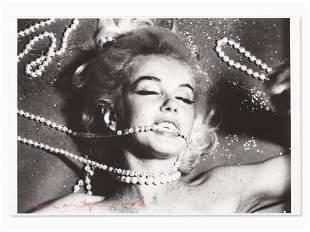 Bert Stern (1929-2013), Marilyn With Pearls, 2012