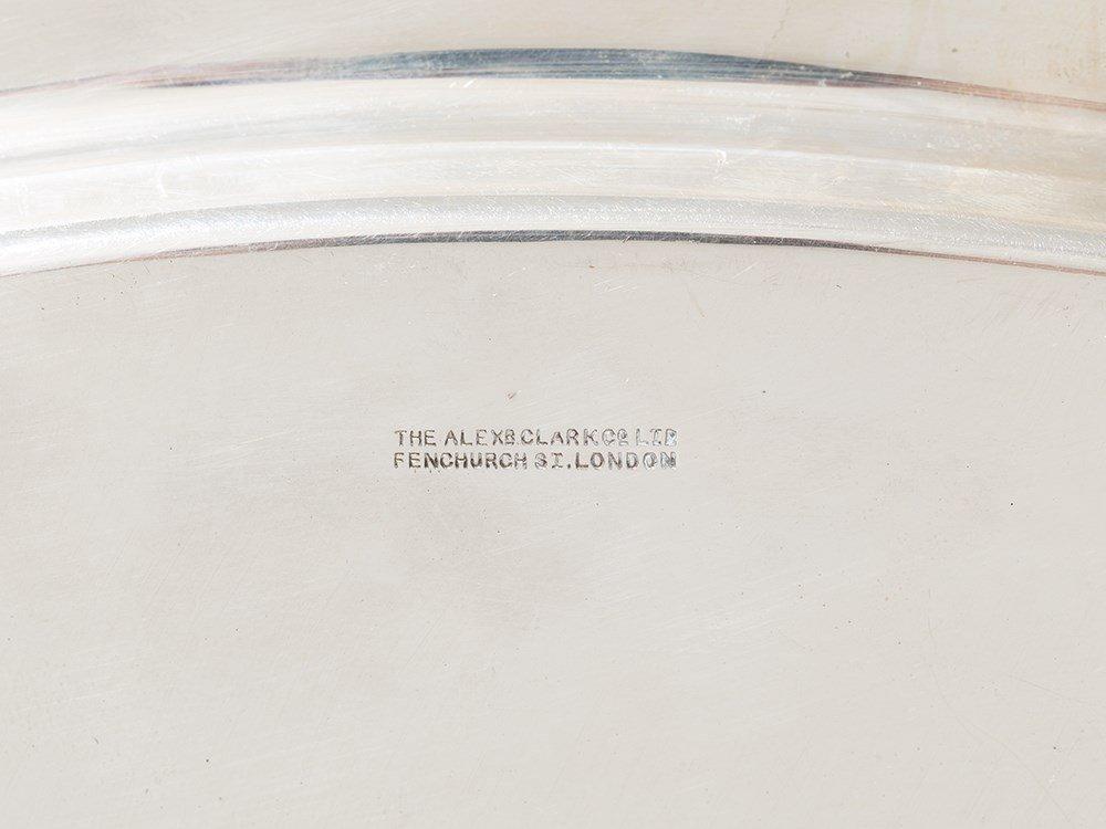 Alexander Clark & Co. Ltd., Silver Tray, Sheffield, - 8