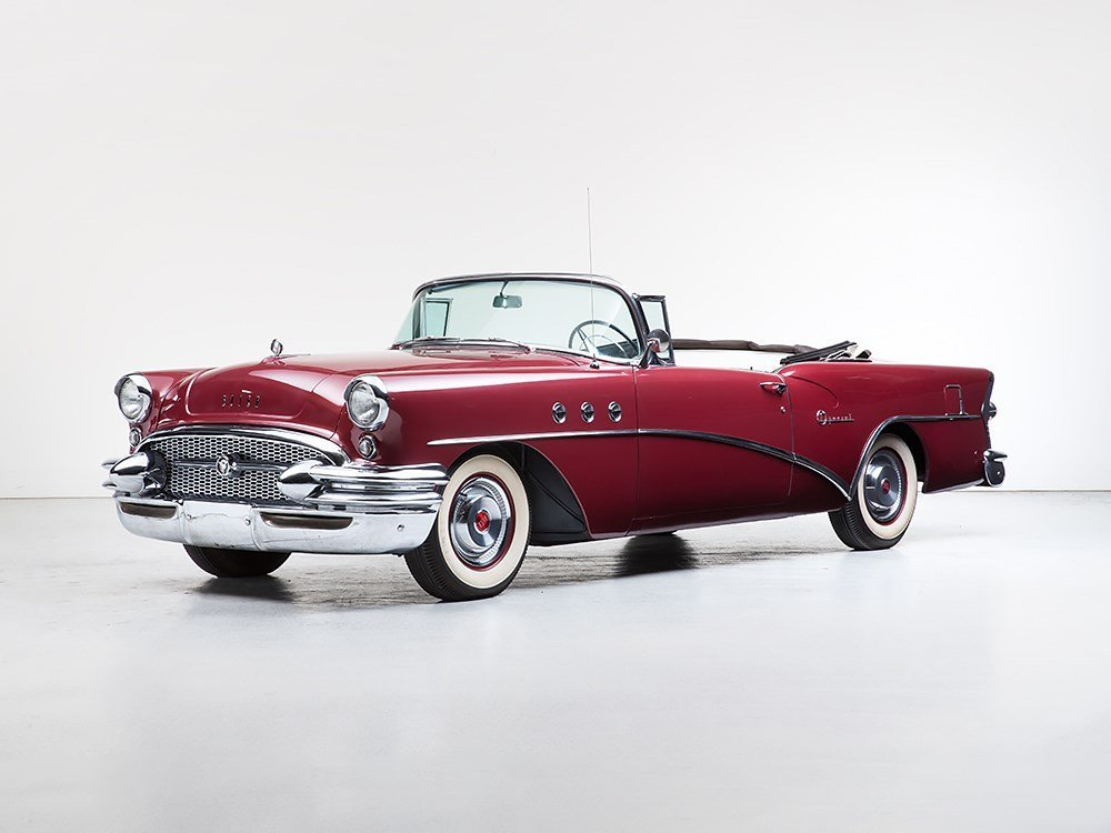 Buick Special Convertible Coupe, Model 1955