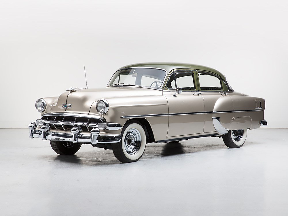 Chevrolet DeLuxe Sedan, Model 1954