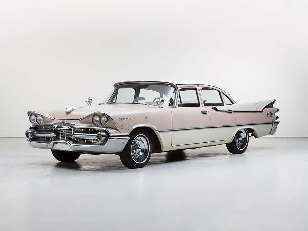Dodge Coronet Sedan, Barn Find, Model 1959