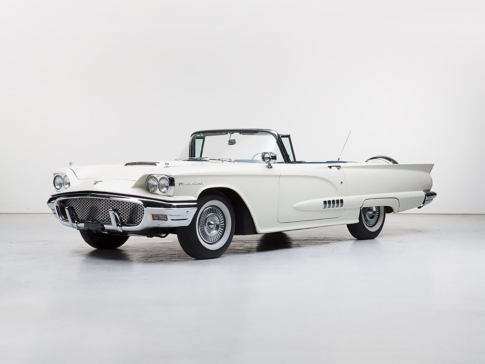 Ford Thunderbird Convertible, Model 1958