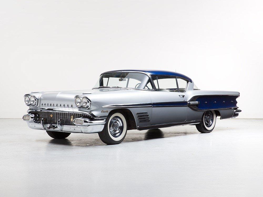 Pontiac Bonneville Custom Sport Coupe, Model 1958