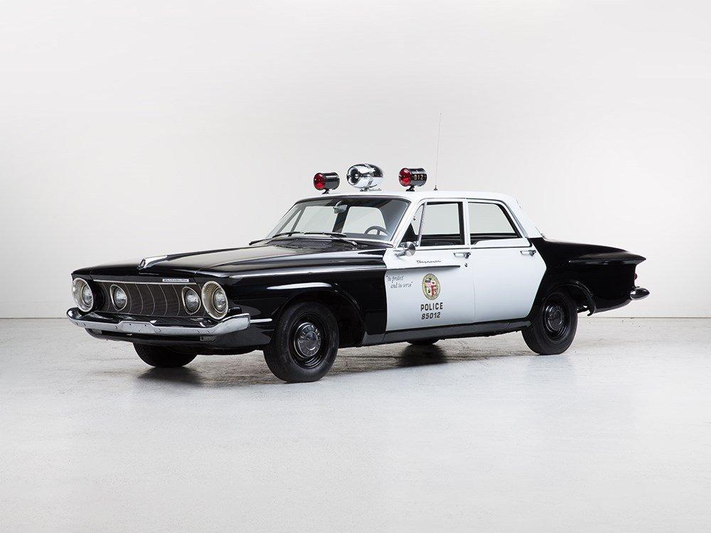 "Plymouth Savoy ""LAPD Police Car"", Model 1962"