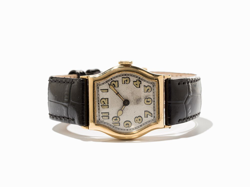 IWC, Early Art Deco Wristwatch, Switzerland, Around