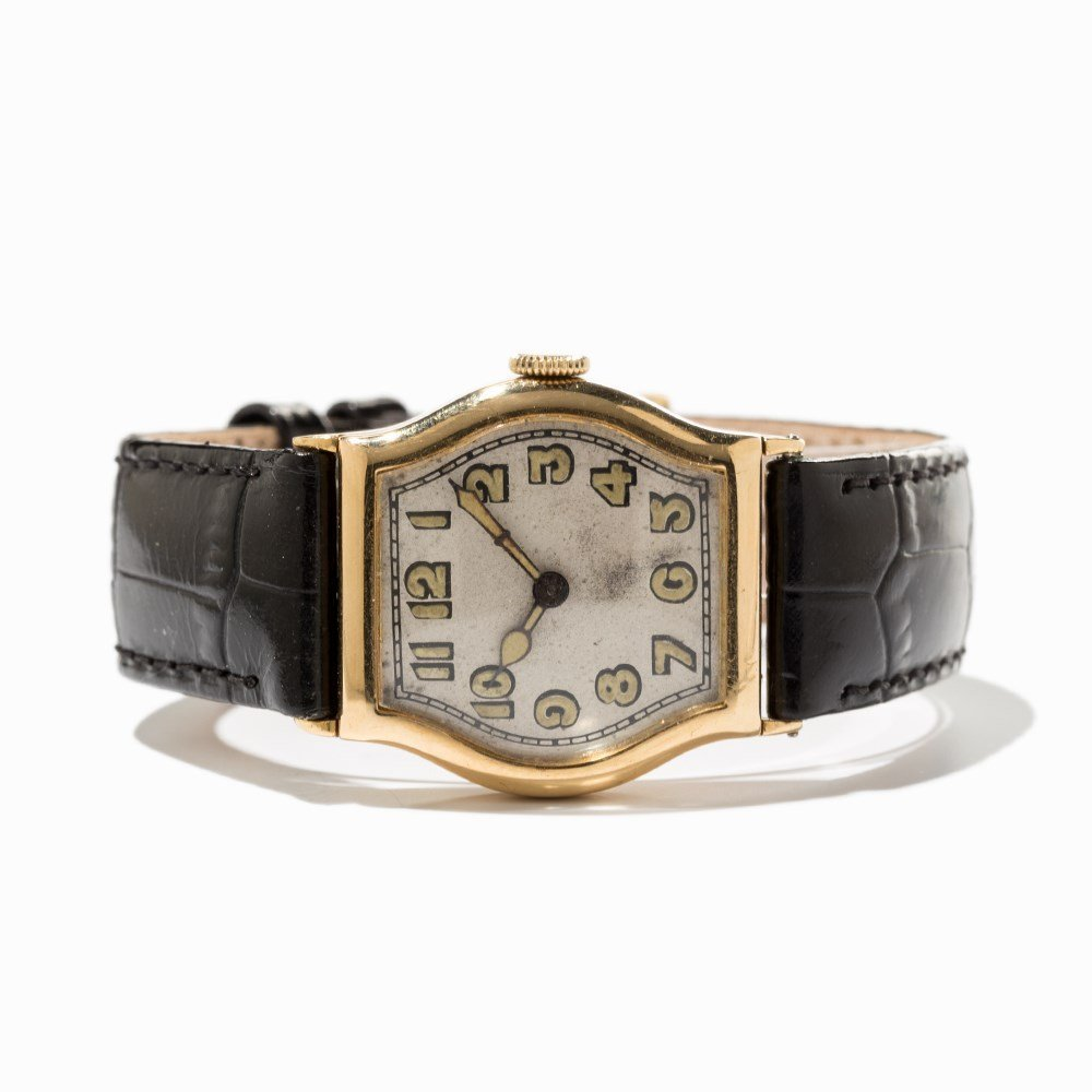 IWC, Early Art Deco Wristwatch, Switzerland, Around - 9